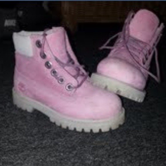 toddler pink timberland boots