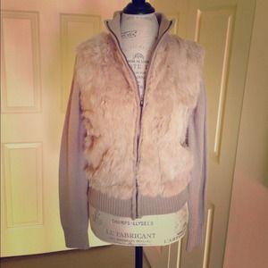 ✂️Fur Sweater Jacket
