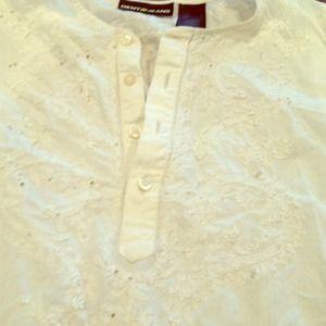 REDUCED Sheer DKNY tunic top