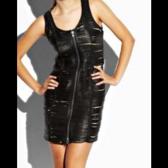 85% off bebe Dresses & Skirts - HOT HOT HOT BEBE Addiction Leather ...