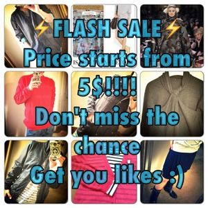 LAST DAY! FLASH SALE ENDS TODAY! 5-70% OFF!!