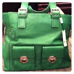 Green Marc Jacobs Bag NWT