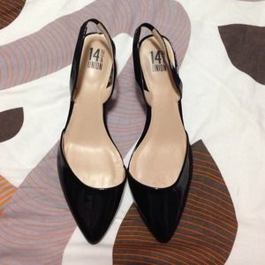 14th & Union Slingback Heels 8M