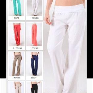 Linen pants!!