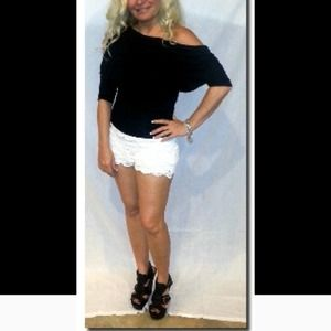 Southern girl lace shorts