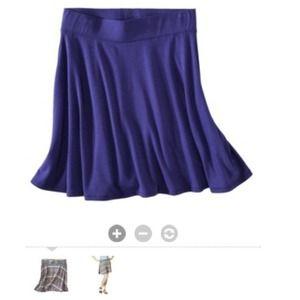 "Mossimo Dresses & Skirts - 📛Mini skater skirt in blue. Size Small. 17"" long"