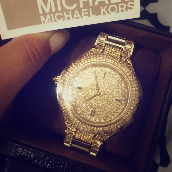 Michael Kors Decided 2 Keep Mk Camille Crystal Watch
