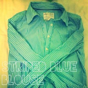 Striped Blue blouse