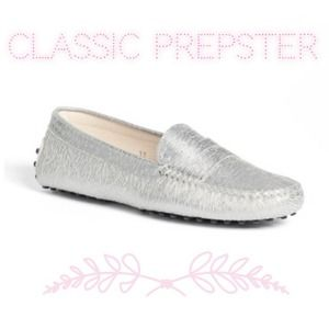 Venettini Shoes - 🎉Host Pick 1/31/14🎉Silver Venettini loafers