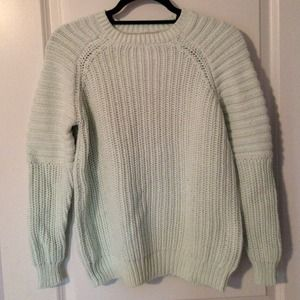 H&M Mint Sweater Size 2