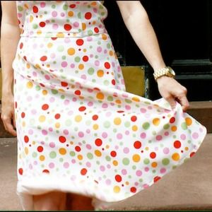 spencer jeremy Dresses & Skirts - SALE! HOST PICK! strapless, polka dot dress