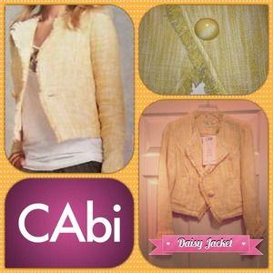 CAbi Jackets & Coats - CAbi Daisy Jacket 1