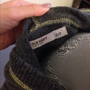 Old Navy Sweaters - 🎉HOST PICK🎉 Dark grey hooded zip up