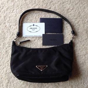 4c683b9d6bcc Prada Bags - Prada Nylon Evening Bag