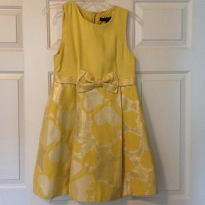 Marc By Marc Jacobs sunshine yellow and gold dress