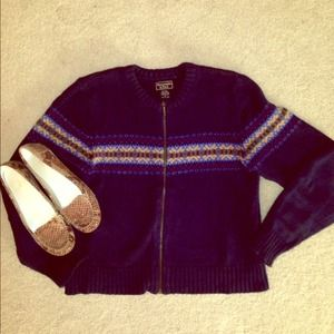 Abercrombie & Fitch Sweaters - Knit Front Zip Sweater