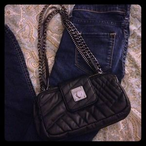 Calvin Klein Black Purse Clutch