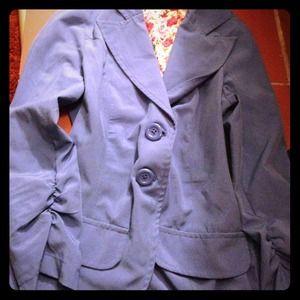 Wet seal light blue blazer size small