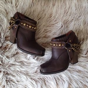 jeffrey campbell | gene harness booties