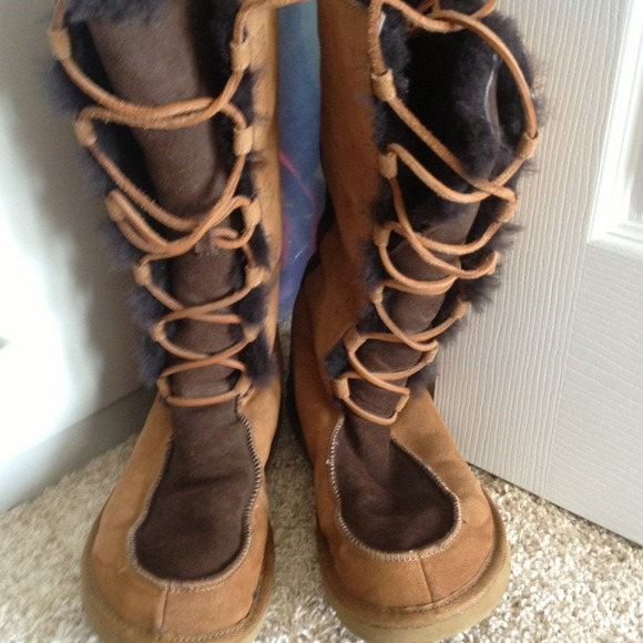 long ugg style boots