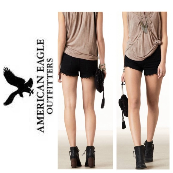 20% off American Eagle Outfitters Pants - High Waisted Black ...