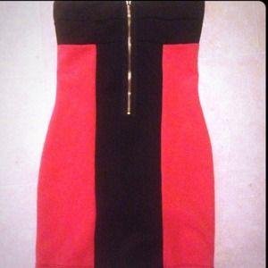 Dresses & Skirts - Strapless zip tube dress worn once !