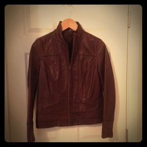 Never been worn real leather jacket
