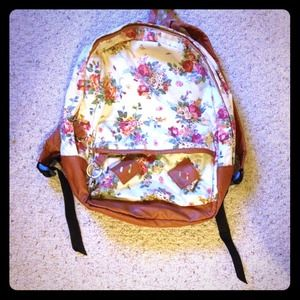 Handbags - Floral Backpack