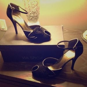 Via Spiga Mary Jane pumps