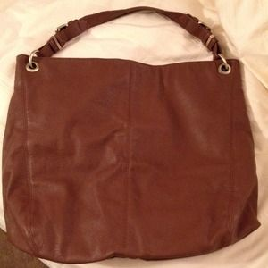 ZARA brown shoulder tote