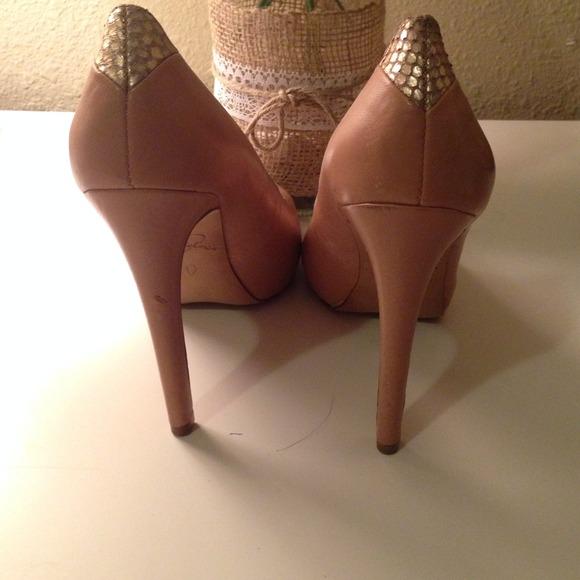 67% off Sam Edelman Shoes - Sam Edelman pinkish nude heels size 5