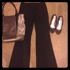 Express Publicist pin striped dress pants-sz 4
