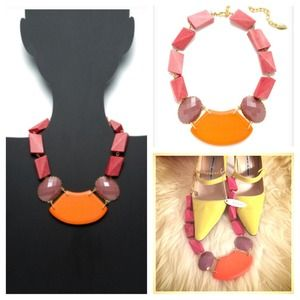 NWT David Aubrey Statement Necklace