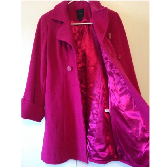 Express - Express Hot Pink Winter Coat from Jessica&39s closet on