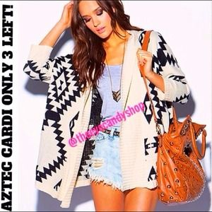 Sweaters - ⚡FLASH SALE⚡AZTEC CARDI ✨FAST SELLER✨ 2 left 1S 1M