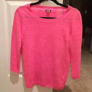 Jcrew linen sweater