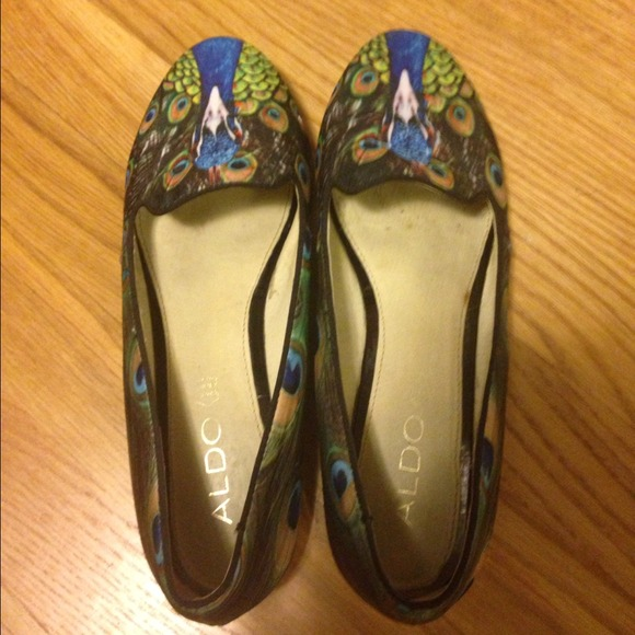 Peacocks Black Flat Shoes