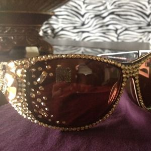Accessories - Jimmy Crystal Sunglasses - REDUCED PRICE!!!!