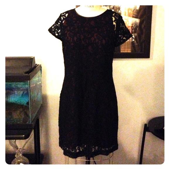 252c3ba5989 Brand New Club Monaco Black Lace Dress! NWT