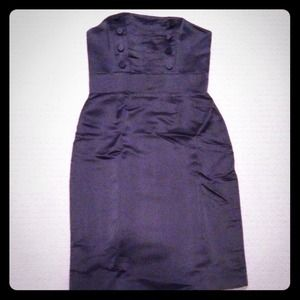 Marc by Marc Jacobs black silk dress