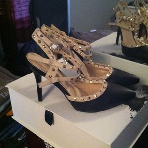 Shoes - Never worn Studded heels.