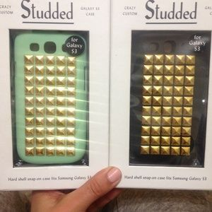 3/$25 New Galaxy S3 studded phone cases