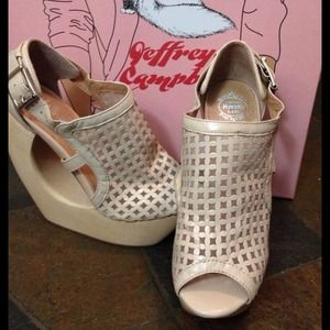 Jeffrey Campbell Shoes - Jeffrey campbell rockview nude wedges