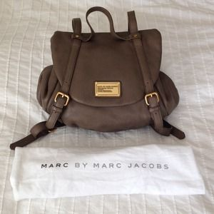 982d3277b412 Marc by Marc Jacobs Bags - ❗️Sold❗️Marc by Marc Jacobs Beige Leather  BackPack