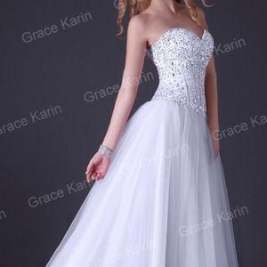 Dresses & Skirts - Embellished Corset Prom Dress