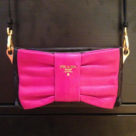82f9cb65df5d Prada Bags | Rare Bow Crossbody Excellent Condition | Poshmark