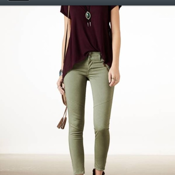 60% off American Eagle Outfitters Pants - 🌟american eagle green ...