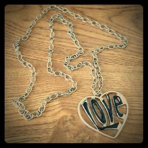 Jewelry - Love charm necklace