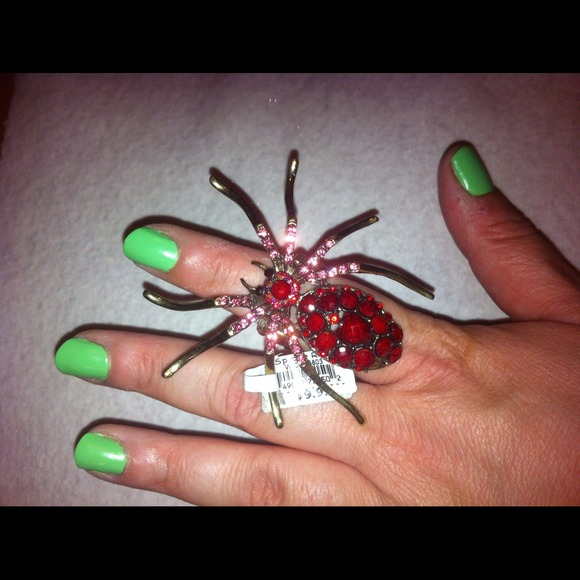 20 jewelry spider ring from s closet on poshmark