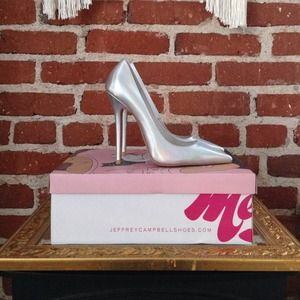 Jeffrey Campbell Shoes - Jeffrey Campbell Hologram Darling Pump